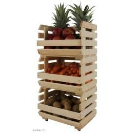 Clayette à légumes 3 caisses