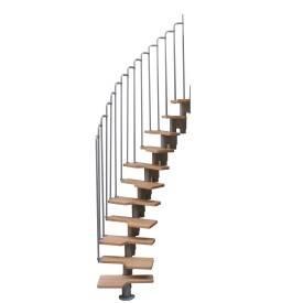 escalier modulable woodup une marque levigne. Black Bedroom Furniture Sets. Home Design Ideas