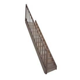 escalier droit woodup une marque levigne. Black Bedroom Furniture Sets. Home Design Ideas