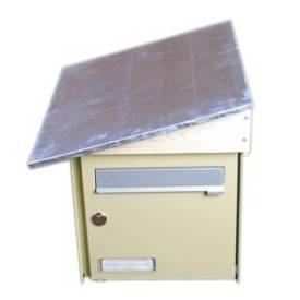 Toiture de boite aux lettres