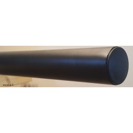 Main courante métal noir