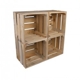 Cube woodbox