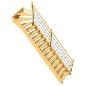 Furka + rampe lisses métal