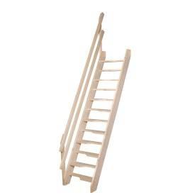 Escalier à pas décalés en kit