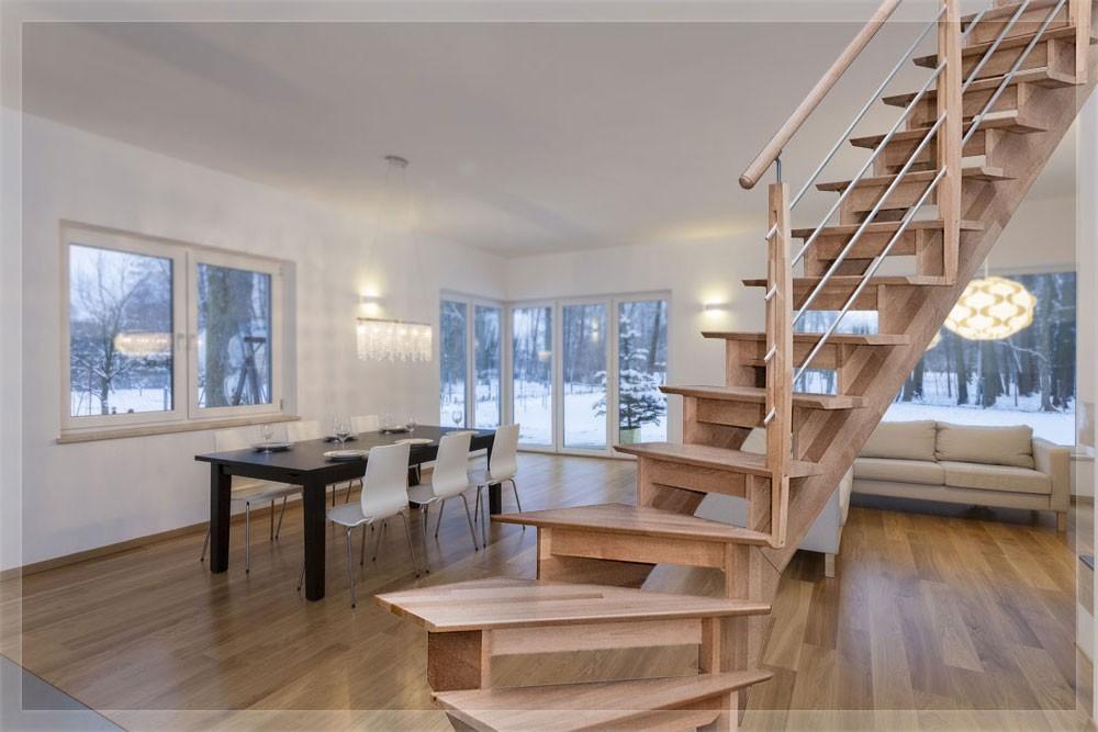 Escalier cremaillère